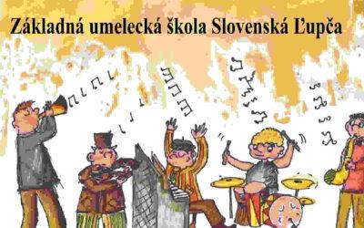 Valentínsky online koncert elokovaného pracoviska ZUŠ v Selciach.